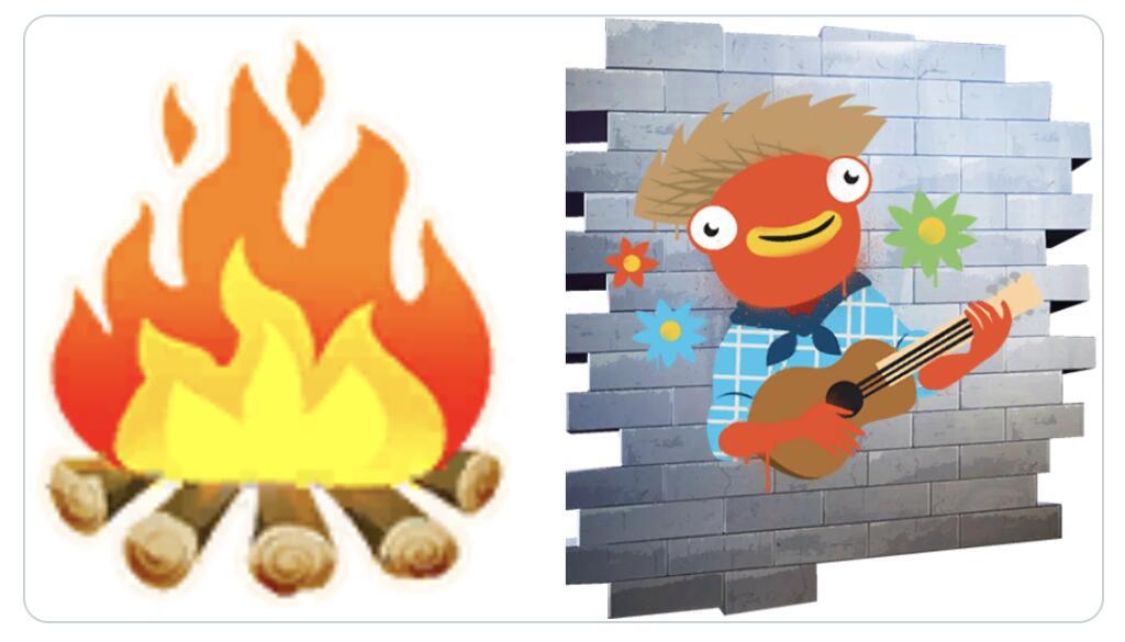 Fortnite June Fish Spray & Bonfire Emoji Free Using Code @ Epic Games