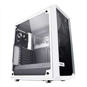 Fractal Design Meshify C Tempered Glass Mid Tower PC Case White, £57.14 at Amazon