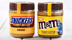 Mix any 2 M&M's or Snickers Peanut Butter 225G (2 for £3) at FarmFoods (Wednesbury)