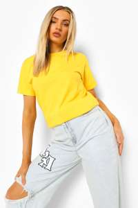 Basic T-shirt in 4 colours £1.95 + Free Next Day Delivery with code From Boohoo