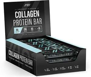 Collagen Protein Bars - (12 x 50g) £9.99 (with voucher) + £4.49 NP (Cheaper S&S - as low as £7.99) Amazon