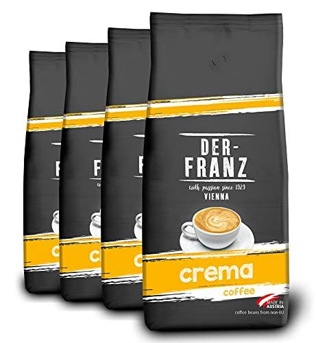 4x1 kg 100% Arabica coffee beans from Der Franz £18.47 @ Amazon (Prime Exclusive)