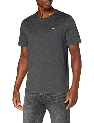 Levi's Men's Ss Original Hm Tee T-Shirt, Charcoal Heather Xx, size L only - £12 (+£4.49 Non Prime) @ Amazon