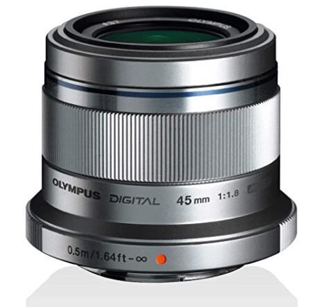 Olympus M.Zuiko Digital 45 mm F1.8 Prime Lens £164 @ Amazon