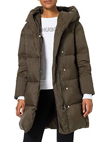 Hugo Boss Women's C_paholly Down Coat - Size 8 - £90.66 @ Amazon