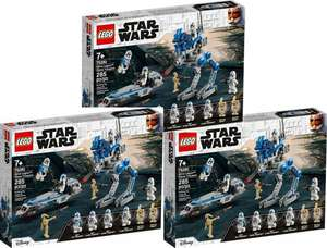 3x LEGO Star Wars 75280 501st Legion Clone Troopers - £46.57 delivered or 6x for £89.62 @ Amazon France