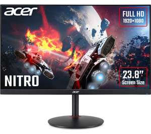 ACER Nitro XV240YP 24 Inch 1080P 144/165hz IPS Freesync Monitor - £129.99 delivered @ Currys PC World