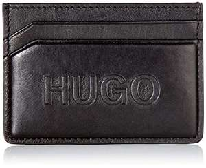 Hugo Boss Domtone S card Grained-leather card holder with tonal logo - £23.67 @ Amazon