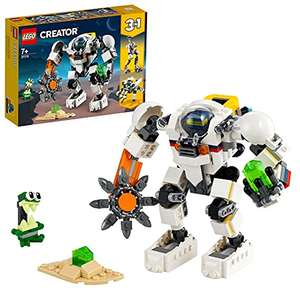 LEGO 31115 Creator 3 in 1 Space Mining Mech - £15.81 Prime / +£4.49 non Prime (UK mainland) Sold by Amazon EU @ Amazon