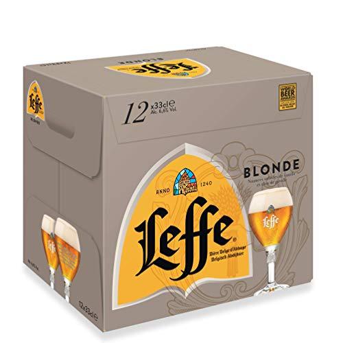 Leffe Blonde Belgium Abbey Beer Bottles, 12 x 330 ml - £14.37 Prime / +£4.49 non Prime @ Amazon