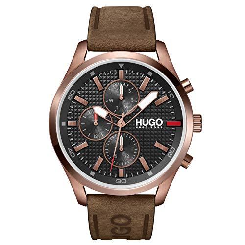 HUGO Men's Analogue Quartz Watch with Leather Calfskin Strap 1530162 £93 @ Amazon (Prime Exclusive)