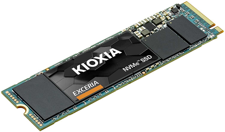 500GB - Kioxia EXCERIA PCIe Gen3 x4 NVMe M.2 2280 TLC SSD 1700/1600MB/s R/W - 5 Years Warranty - £40.20 delivered @ Amazon