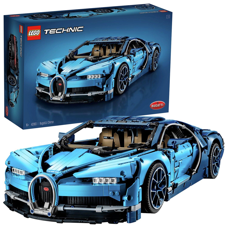 LEGO Technic 42083 Bugatti Chiron Model Car - £202.50 + free Click & Collect / £3.95 delivery at Argos