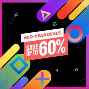 Mid-Year Sale @ PlayStation PSN The Witcher 3 £4.99 Tomb Raider £2.39 MGSV Phantom Pain £3.99 Sleeping Dogs £3.74 Need for Speed £3.99 +More