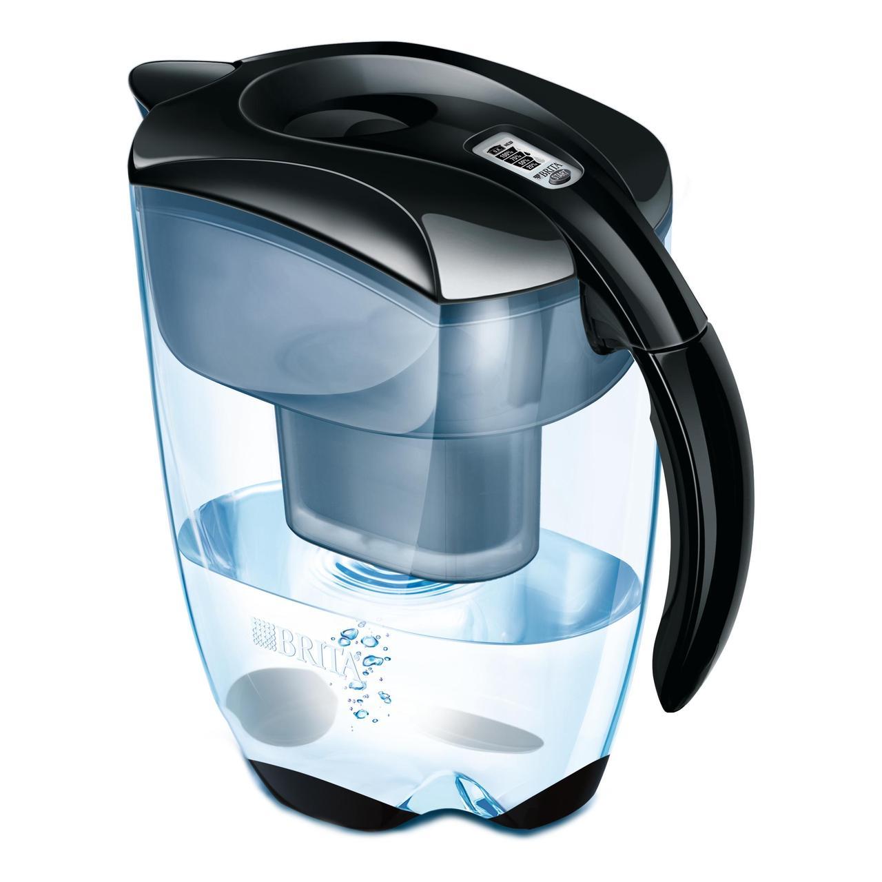 Brita Maxtra+ Elemaris XL Water Filter Jug, Cool Black 3.5L - £19.95 at Ocado
