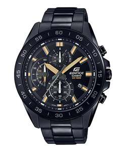 Casio Men's Edifice Chronograph Black Bracelet Watch, £59.99 at Argos (Free click and collect)