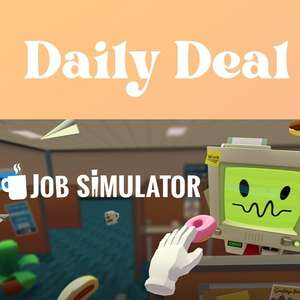 Oculus VR Daily Deal - Job Simulator £10.49 @ Oculus
