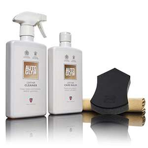 Autoglym LCPKIT Leather Clean & Protect Complete Kit £18.35 Prime at Amazon (+£4.49 non Prime)