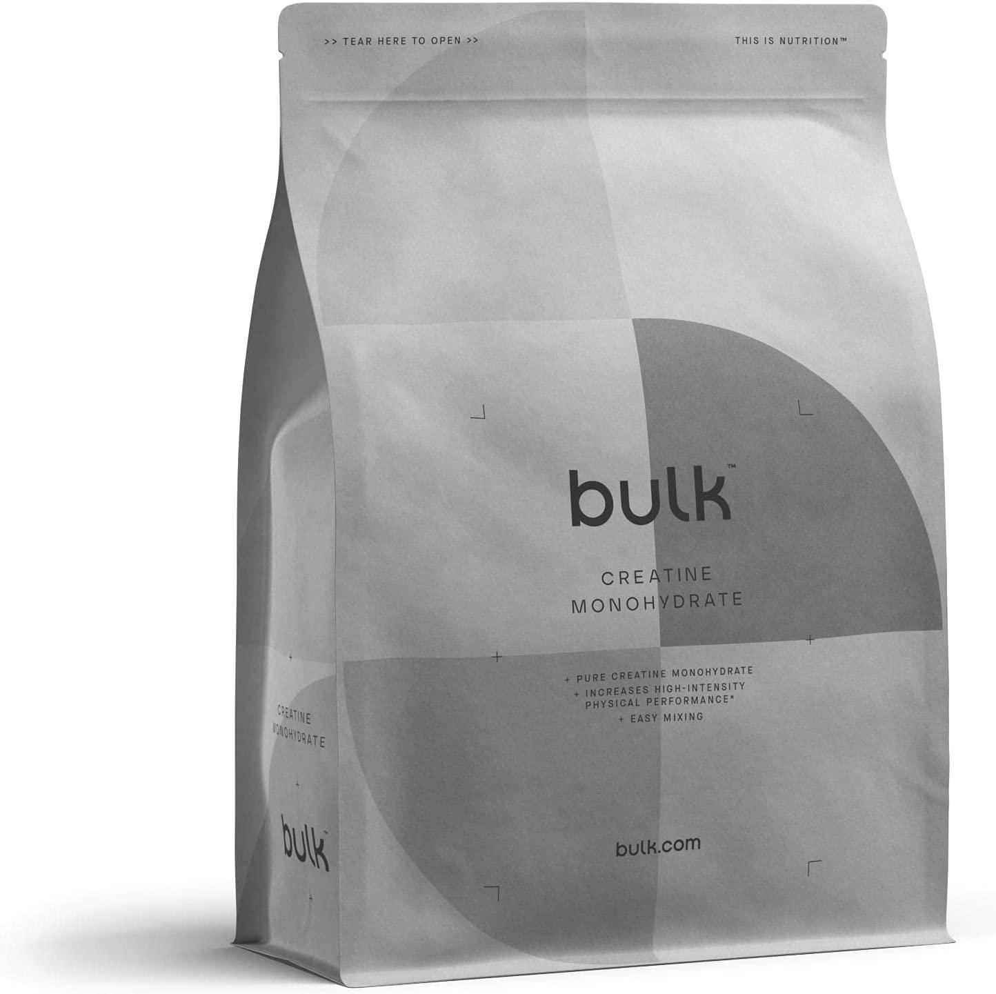 Bulk Creatine Monohydrate Powder, Pure Unflavoured, 500g - £2.19 Prime / +£4.49 non Prime (£1.97 S&S) @ Amazon