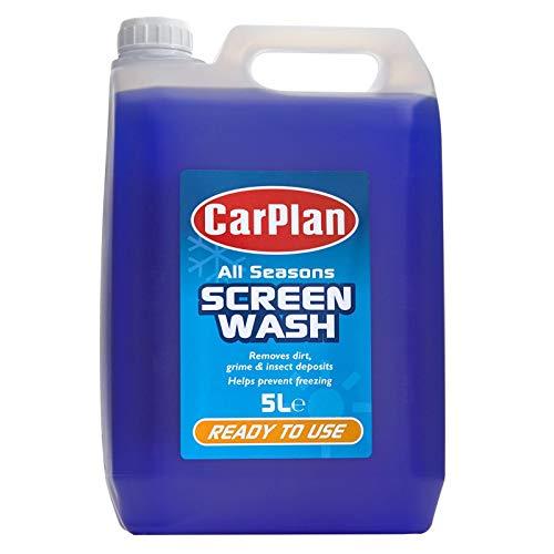 Carplan ASW055 All Seasons Ready Mixed Screen Wash 5 Litres £3.99 (Prime) + £4.49 (non Prime) at Amazon
