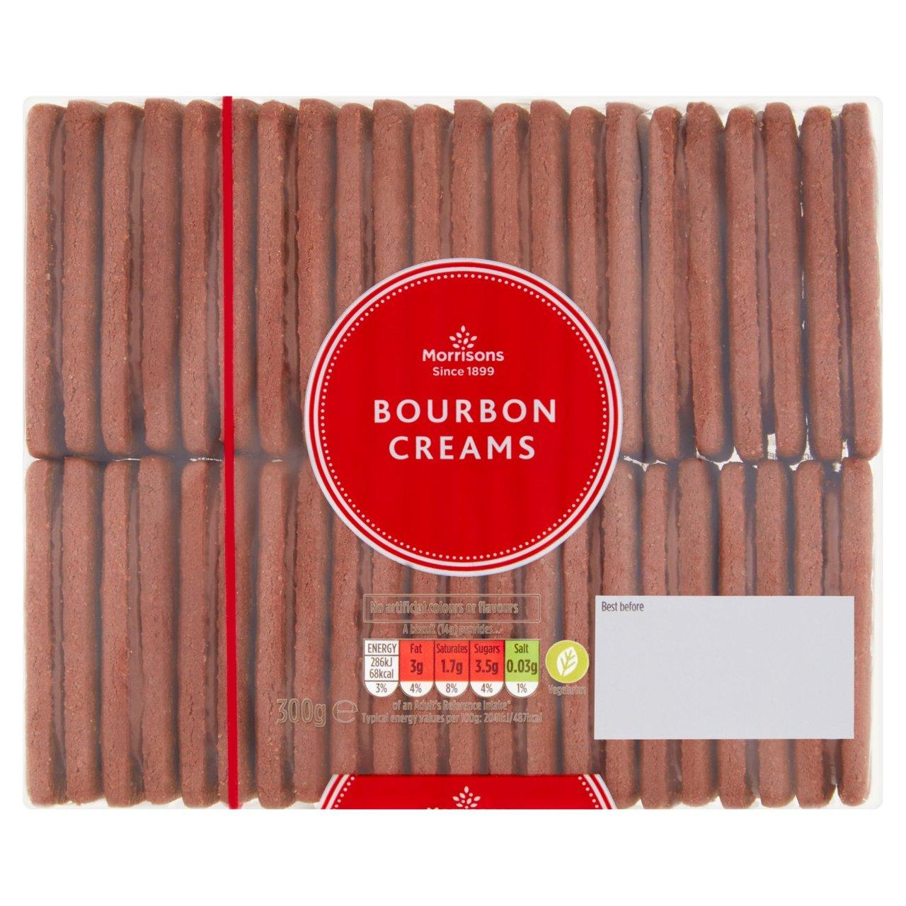 Morrisons Bourbon Creams Biscuits 300g - 35p @ Morrisons