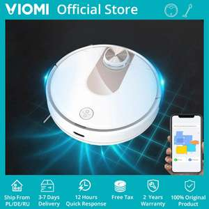VIOMI SE Robot Vacuum Cleaner Smart Planned Y-type Electric Mop £165.72 at AliExpress / viomi Official Store
