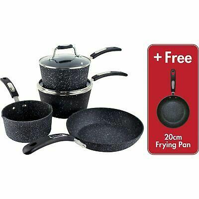Scoville Neverstick 5 Piece Cookware & Pan Set - £35 @ Asda