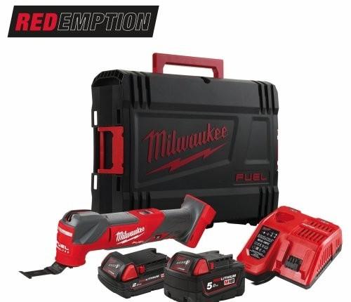 Milwaukee M18FMT-522X Multi Tool 1-18V-5AH + 1-18V-2AH Redlithium Batteries - £288 delivered @ powertoolsuk