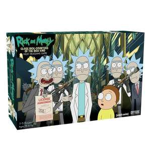Rick and Morty - Close Rick Counters of the Rick Kind Deck Building Card Game - £7.98 Delivered @ Zavvi