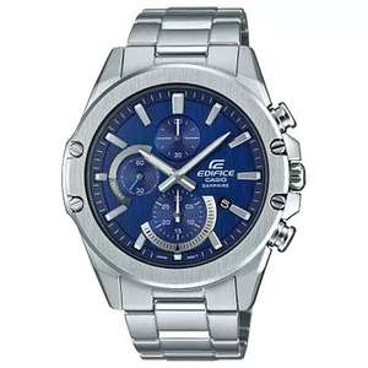 Casio Edifice Sapphire Men's Stainless Steel Bracelet Watch £55 @ H Samuel