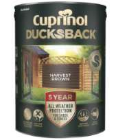 Cuprinol 5 years Ducksback all weather paint - £10 (+£5 Delivery) @ Wilko