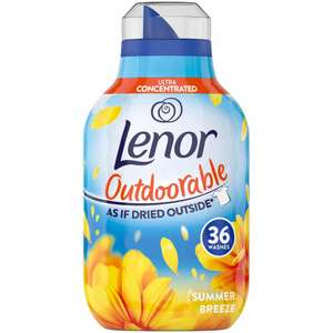 Lenor Ultra Concentrated Outdoor Fabric Conditioner Summer Breeze 504ml , Now £1.75 @ Wilko (Chester)