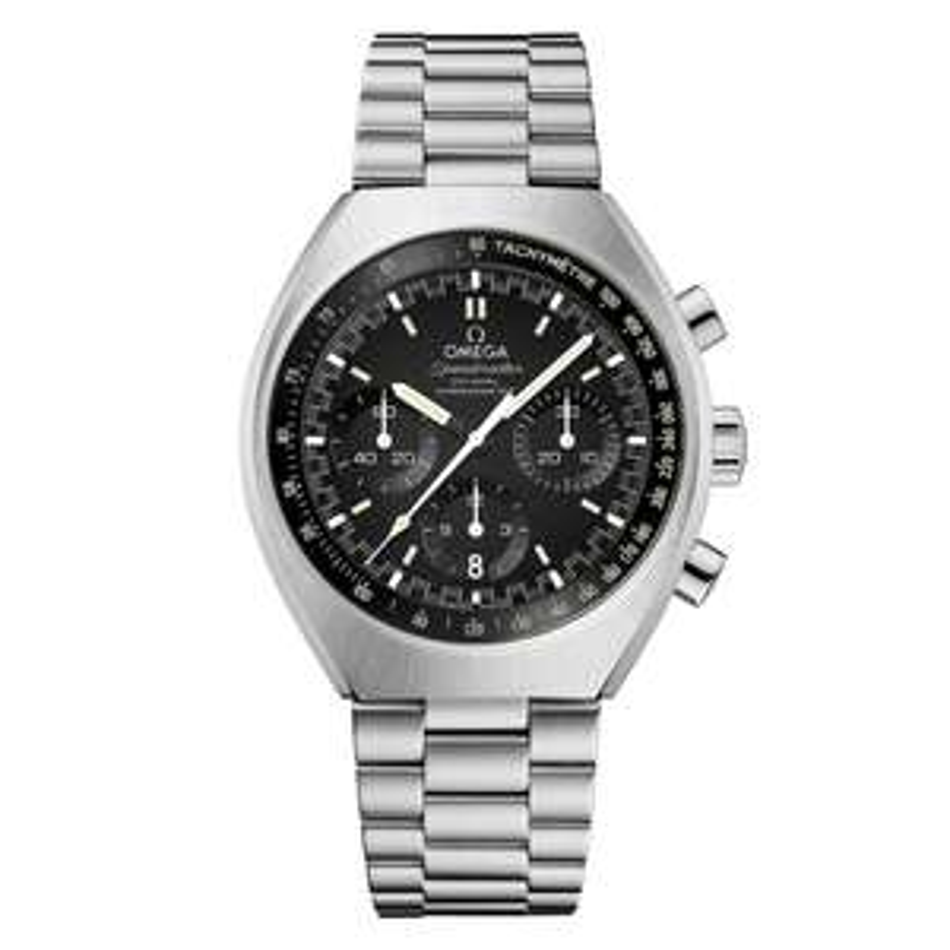 Omega Speedmaster Mark II Men's Steel Bracelet Watch £3500 @ Ernest Jones