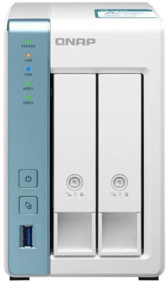 QNAP TS-231K 2 Bay Desktop NAS Enclosure £156.99 Amazon