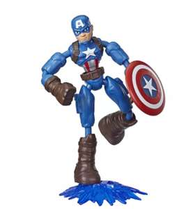 Marvel Avengers Bend And Flex Captain America (free click & collect / £3.95 delivery) £5 @ Argos