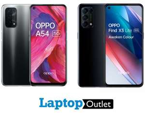 Oppo Find X3 Lite 128GB Smartphone - £296.99 / Oppo A54 - £179 (+ More Oppo In OP) With Code @ Laptop Outlet