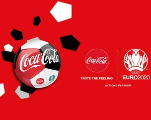 Free UEFA euro 2020 football with orders over £40 @ Coca-Cola