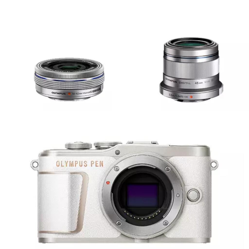 Olympus E‑PL10 Pancake Zoom Kit + M.Zuiko Digital 45mm F1.8 for £550 delivered (using code) @ Olympus