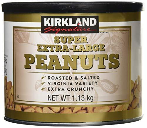 Kirkland Signature Super Extra Large Peanuts Roasted & Salted Nuts Pack 1.13kg £7.29 Amazon Prime (+£4.49 Non Prime)