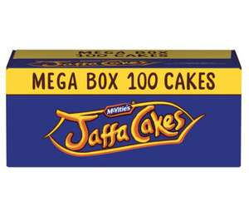 McVitie's Jaffa Cakes Mega Box 100 Cakes £4.50 @ Iceland