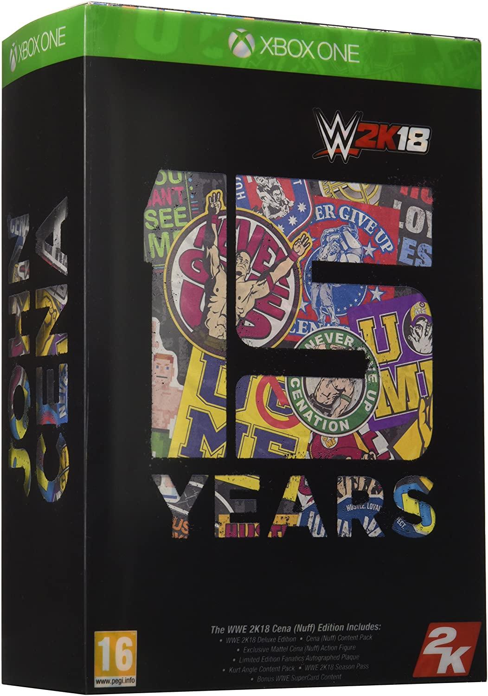 WWE 2K18 Cena Nuff Edition (Xbox One) - £15.68 Prime / +£2.99 non Prime @ Amazon
