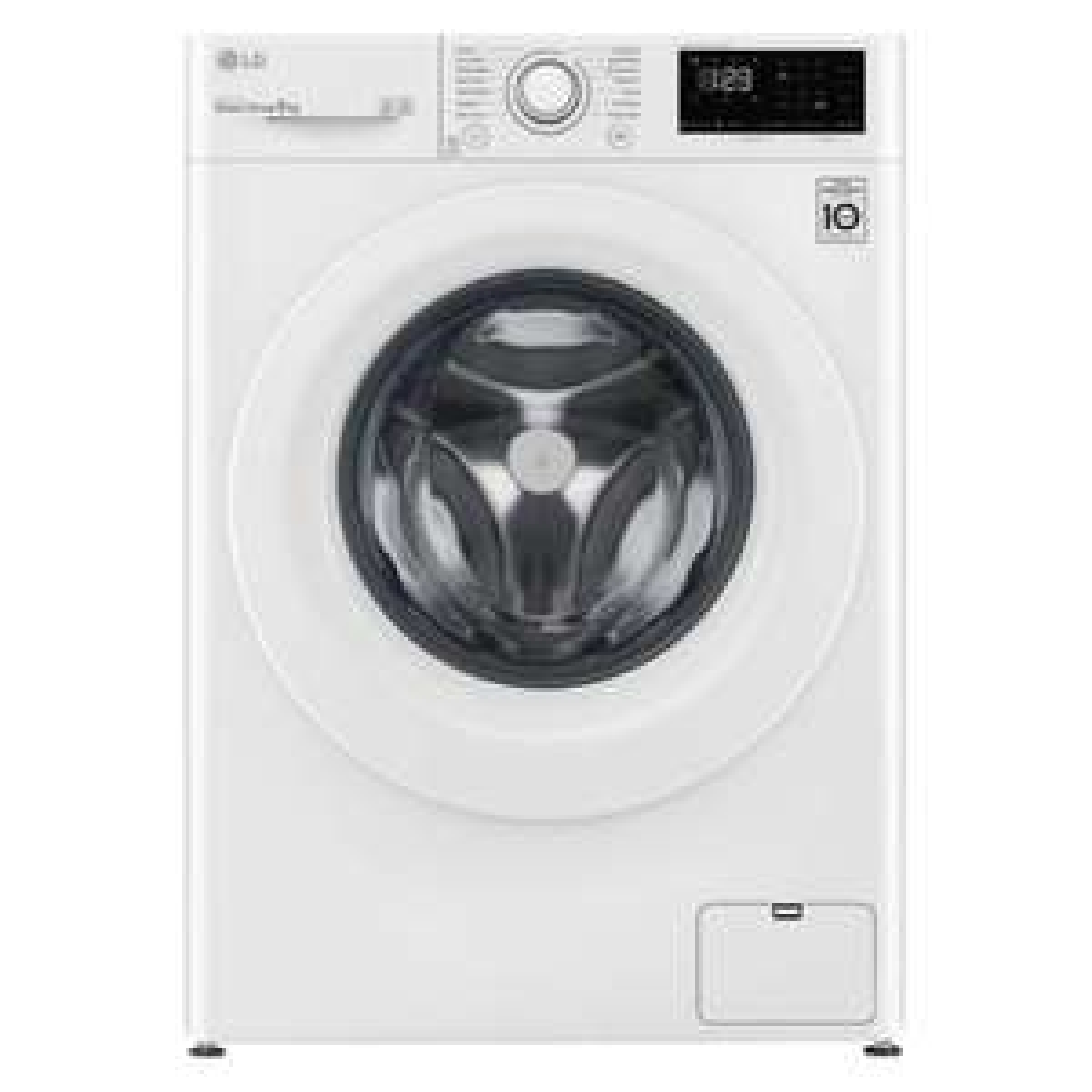 LG F4V308WNW 8kg 1400rpm Freestanding Washing Machine - £349 with Voucher @ Hughes