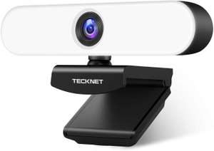 1080P Webcam with Microphone for PC, TECKNET, USB C £19.99 with voucher Sold by Upoint and Fulfilled by Amazon