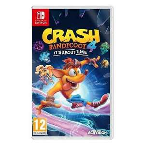 Crash Bandicoot 4: It's About Time for Nintendo Switch £35.88 (Nectar members) or £38.12 (non-Nectar) delivered @ eBay / Shopto