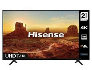 Hisense H50A7100FTUK 50 4K Ultra HD HDR Smart LED TV £279.20 with Nectar/ £296.65 without Nectar at hughes-electrical ebay UK Mainland