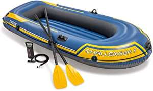 Intex Challenger Inflatable Boat Set with Oars + Inflator £40.56 @ Amazon