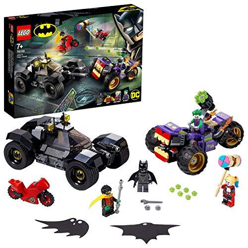 LEGO 76159 Super Heroes DC Batman Joker's Trike Chase with Batmobile, Harley Quinn & Robin Minifigures £31.98 @ Amazon