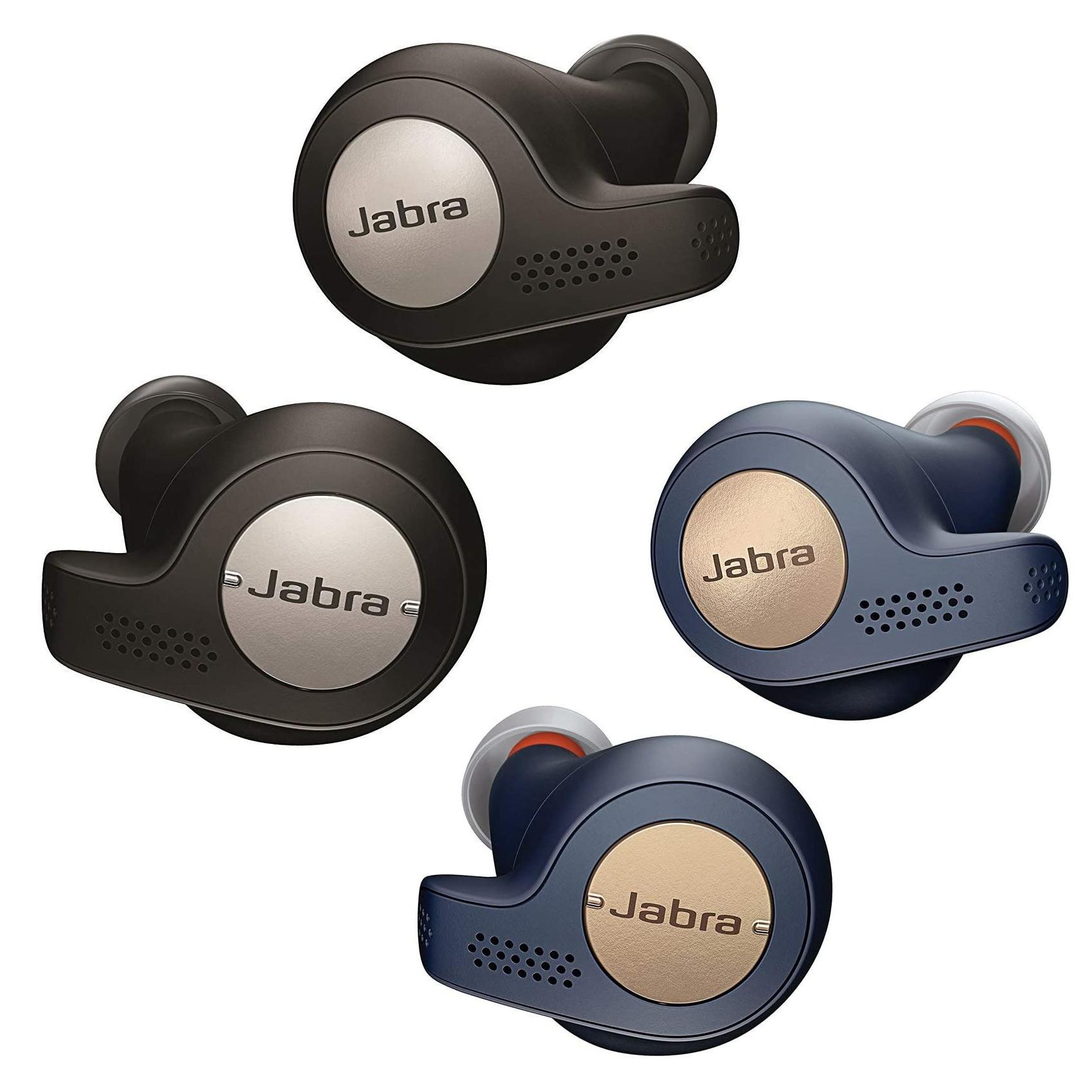 Jabra Elite Active 65t True Wireless Sweat & Weather-Resistant Bluetooth In-Ear Headphones Black/Copper Blue- £39.99 @ John Lewis & Partners