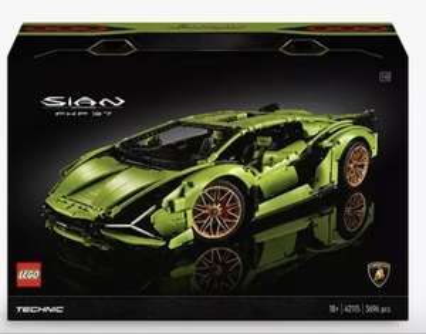 Lego Technic Lamborghini Sian - £232.99 @ John Lewis & Partners