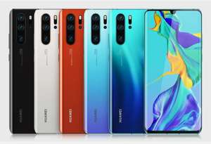 Refurbished Good Huawei P30 Pro 128GB 8GB Smartphone - 3 Colours - £189.99 With Code @ 4Gadgets